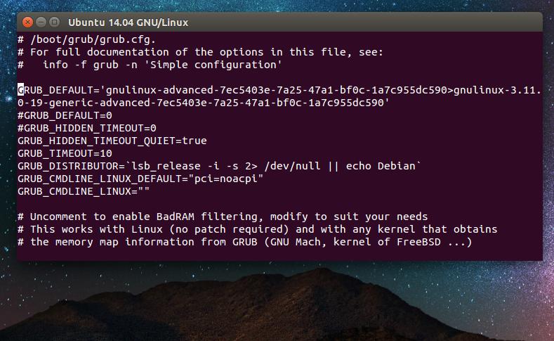 Linux + GNU = Humans Enabled: How To Set Default Grub / kernel