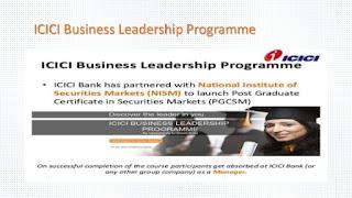 ICICI Business Leadership Programme