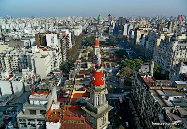 Buenos Aires vista da torre do Palácio Barolo