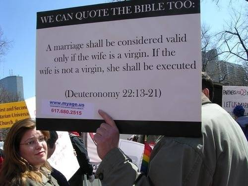 gay marriage in the bible