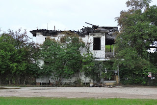116 Westheimer Houston TX 77006 - empty lot - house burned out in 2015