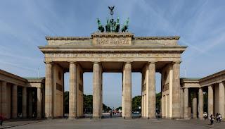 Современный снимок Бранденбургских ворот