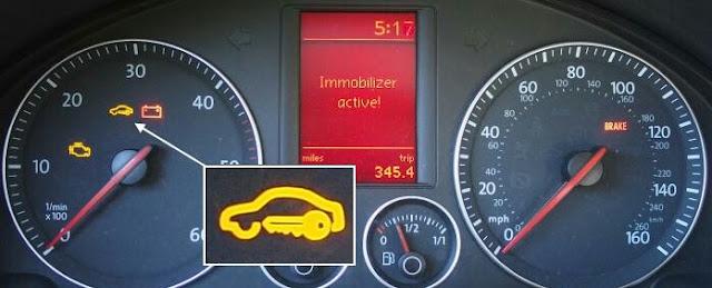 Engine immobilizer, komponen, fungsi dan cara kerjanya