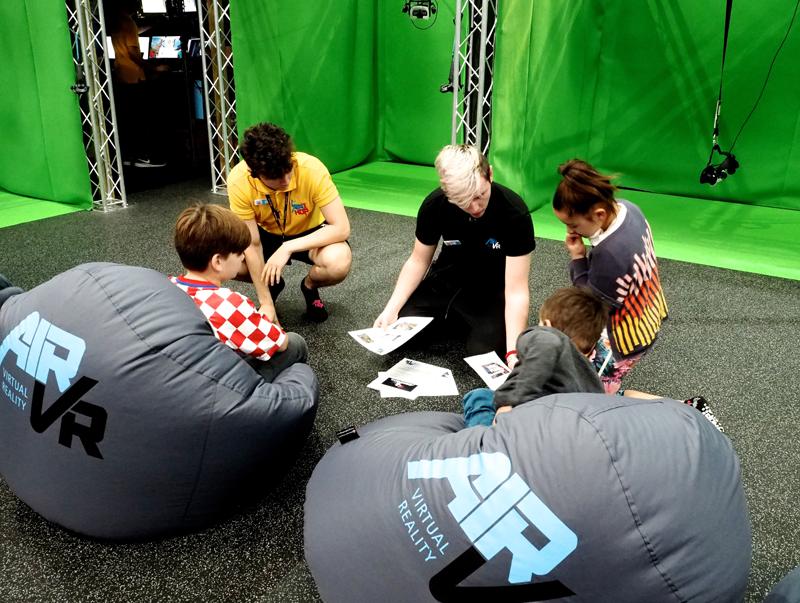 AirHop Bristol AirVR virtual reality trampoline park