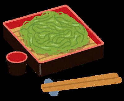 茶そばのイラスト