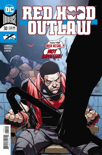 """Red Hood: Outlaw"" núm. 30 de Scott Lobdell."