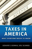 Taxes In America: What Everyone Needs to Know by Leonard Burman and Joel Slemrod