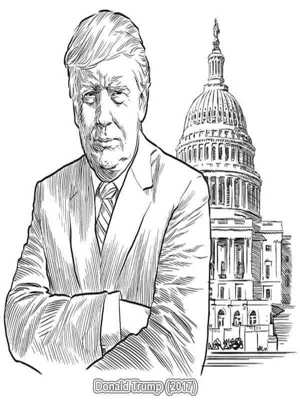 us president coloring pages - photo#34