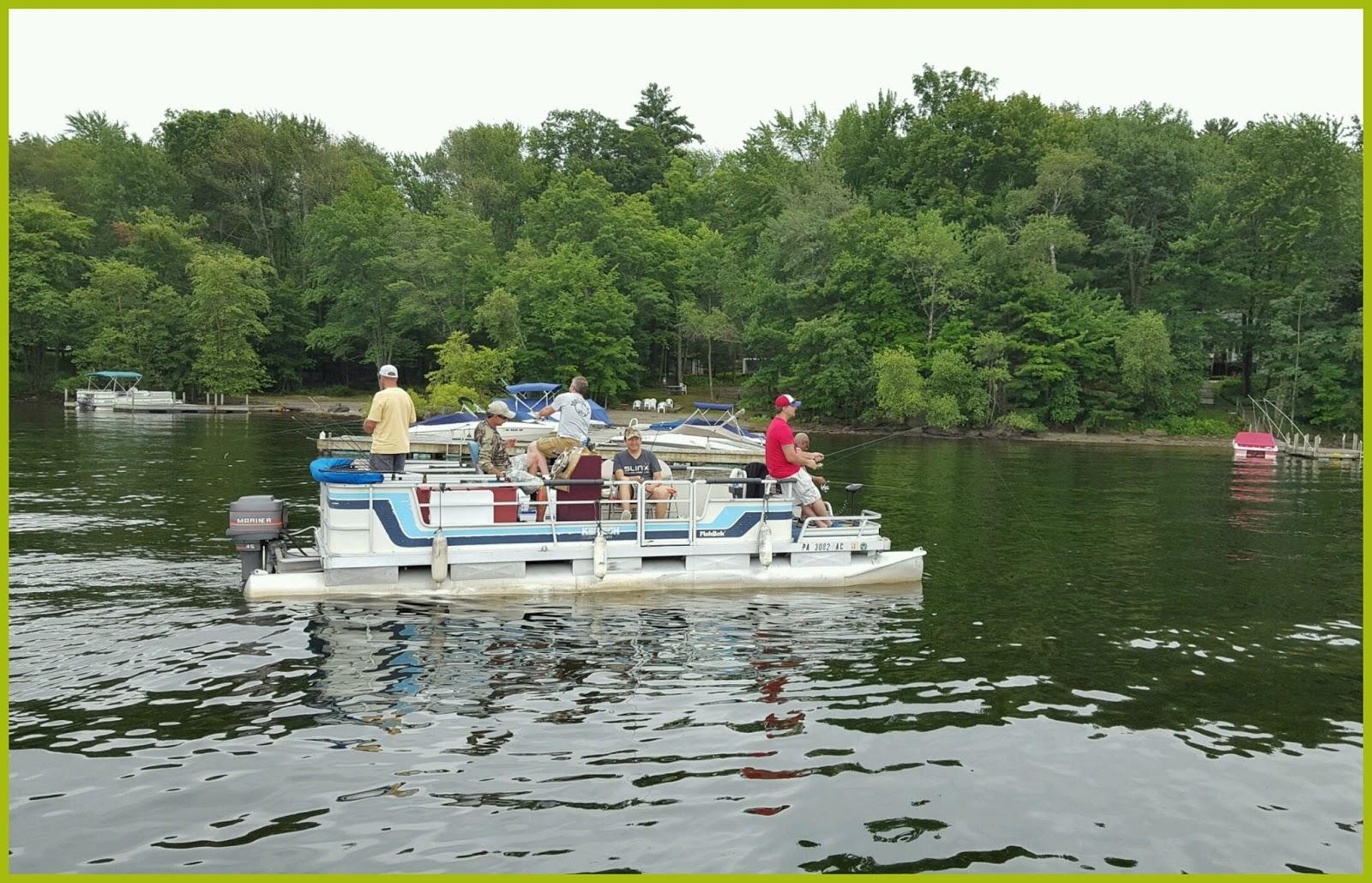 Legends outdoors lake wallenpaupack and surrounding area for Lake wallenpaupack fishing