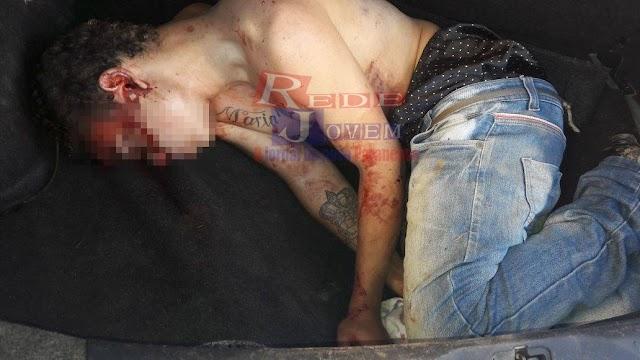 Policia militar prende adolescente com carro roubado em Colombo no porta-mala havia um corpo