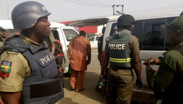 nasarawa police superintendent steals transformer parts