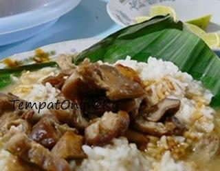 nasi gandul khas pati lezat