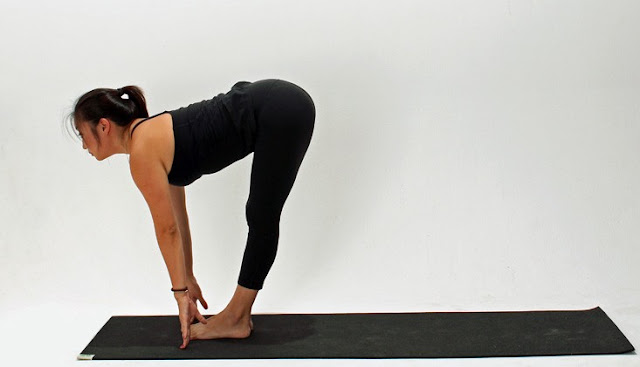 Uttanasana or Standing Forward Bend Steps and Benefits