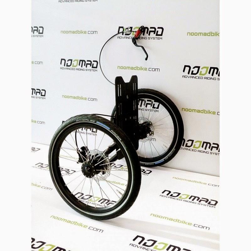 Folding Style Kiffy Triciclo Modulare Con Telaio Separabile
