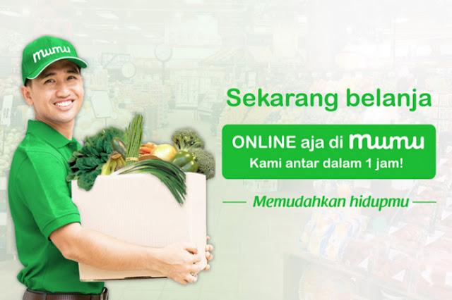 Banyaknya Makanan Di Toko Online MUMU