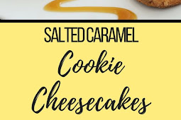EASY SALTED CARAMEL COOKIE CHEESECAKE RECIPE