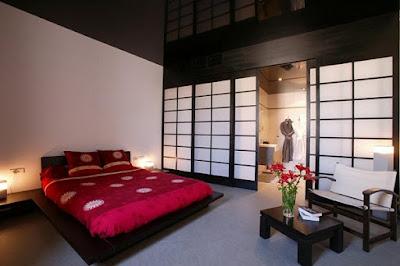 10 desain kamar tidur gaya jepang - model rumah minimalis