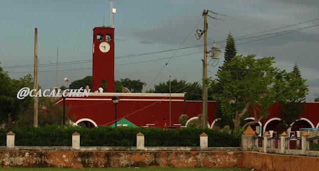 Palacio municipal de Cacalchén