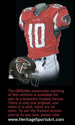 Atlanta Falcons 2004 uniform