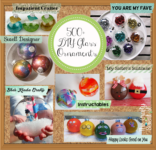 500+ Glass Ornaments Roundup