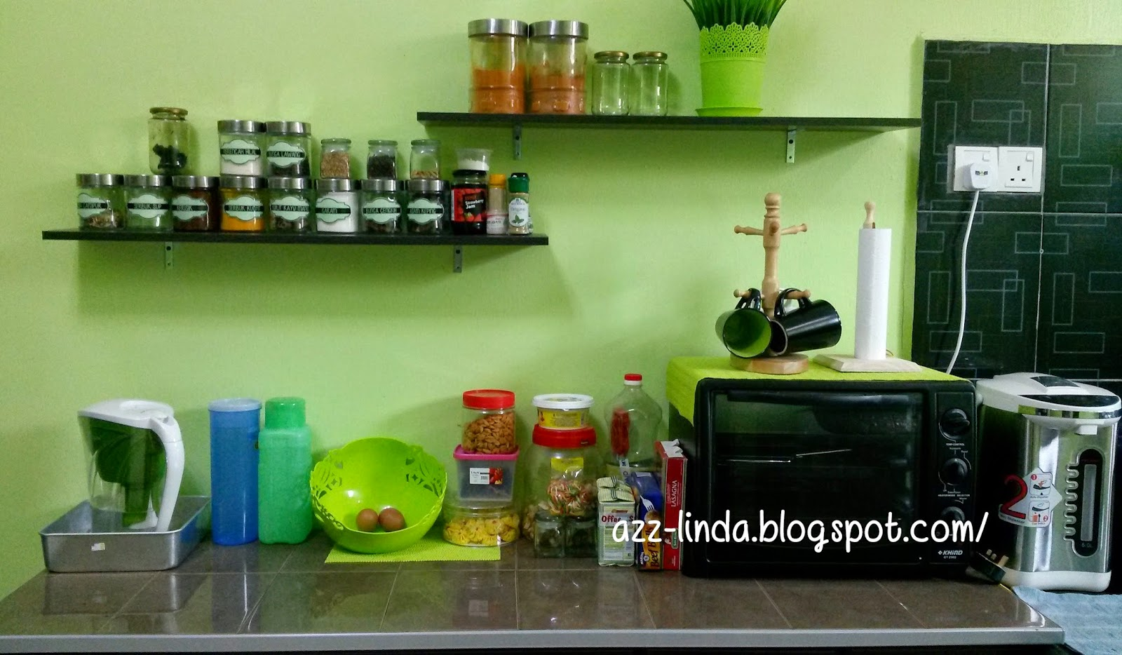Sharing Is Sayang Susun Atur Tanpa Kitchen Cabinet Contoh
