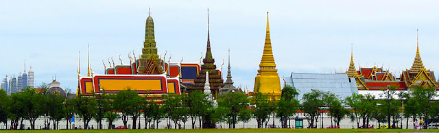 Sanam Luang Royal Palace in Bangkok city center