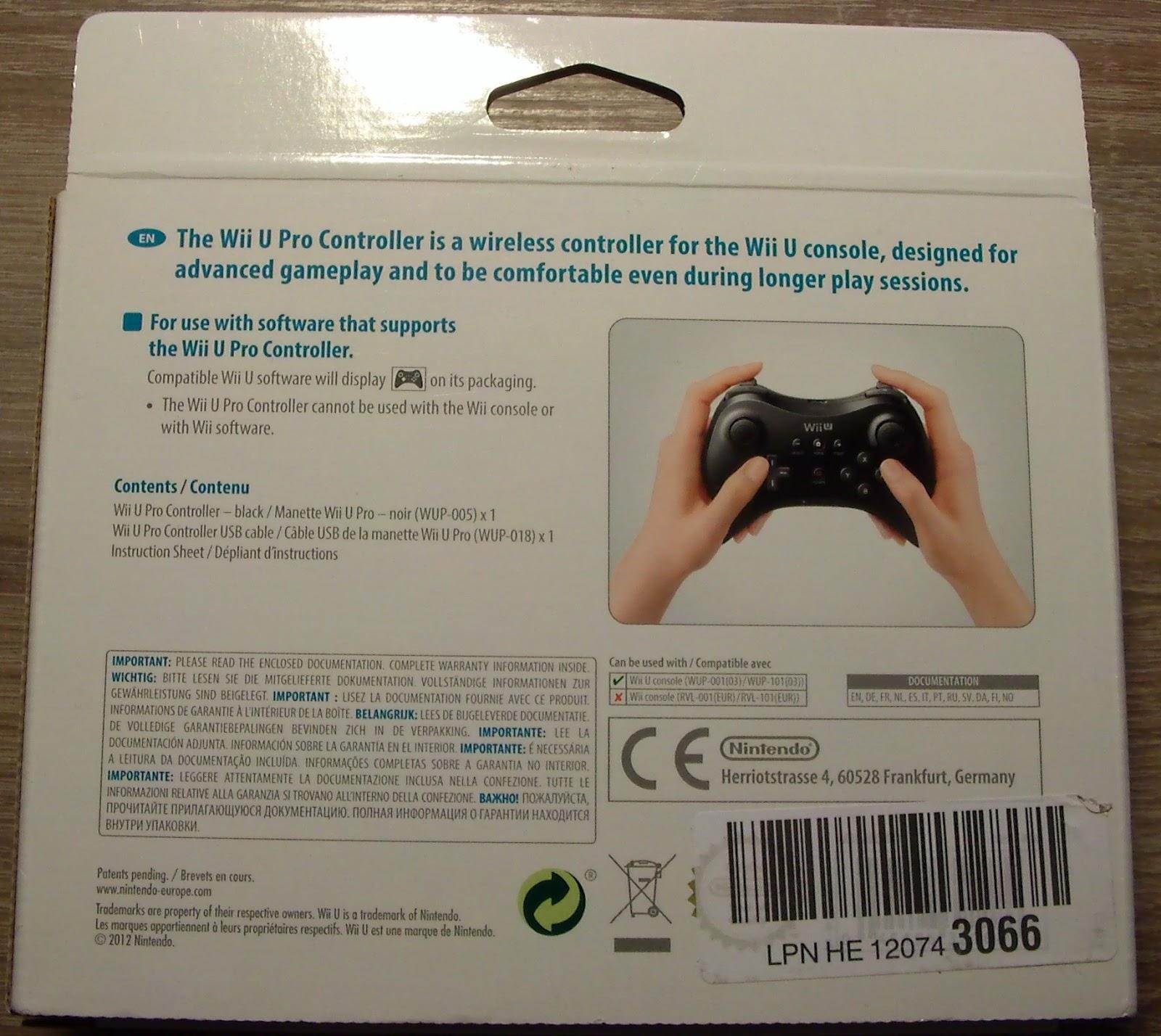 Beyond Consoles: Wii U Pro Controller Review (Nintendo)