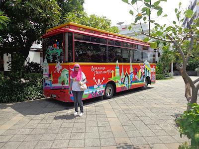 Bus Surabaya heritage track