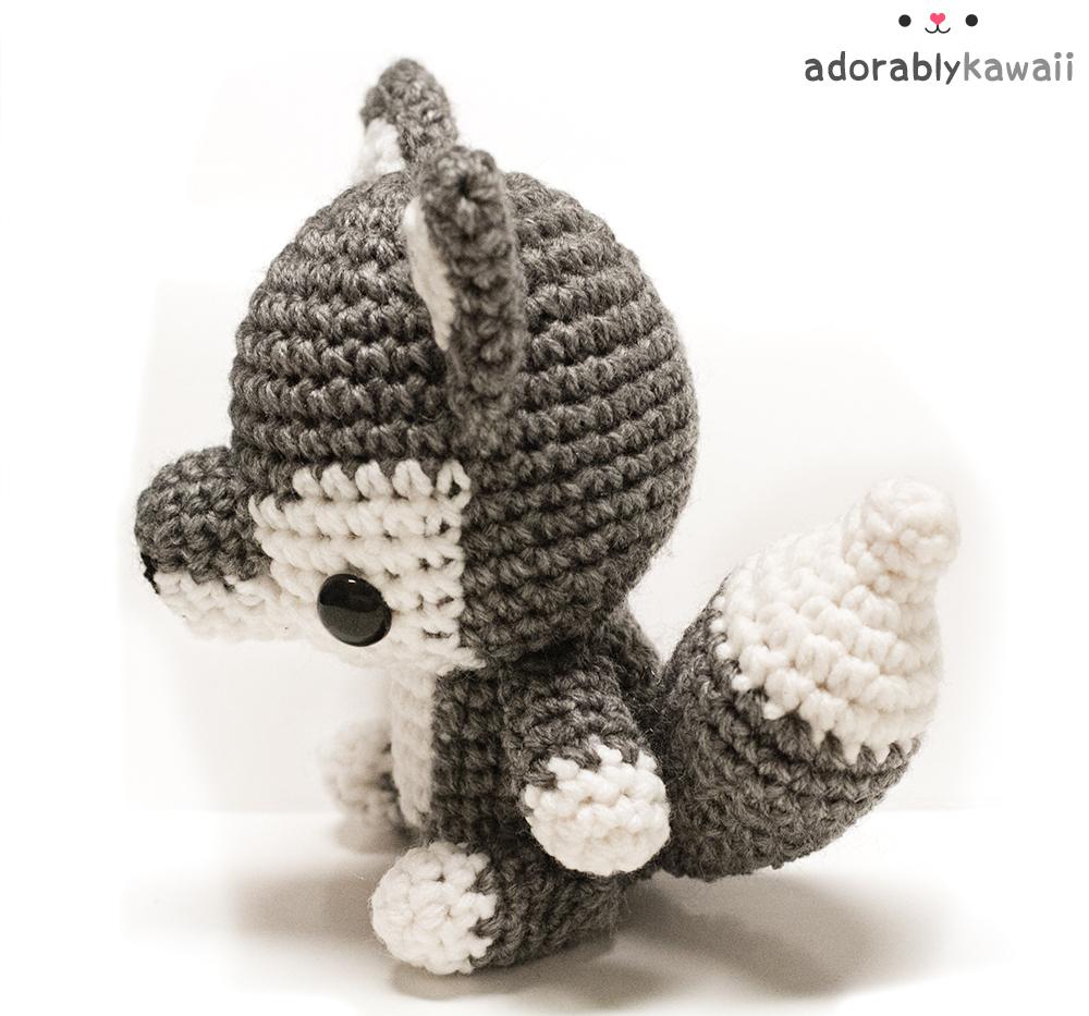 Gabriel the Grey Wolf Crochet pattern by Adriana Aguirre ... | 933x1000