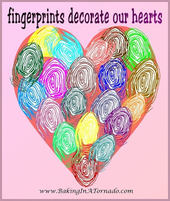 Fingerprints decorate our hearts: Daddy's Girl and With a Smile and a Wink | www.BakingInATornado.com | #MyGraphics #Family