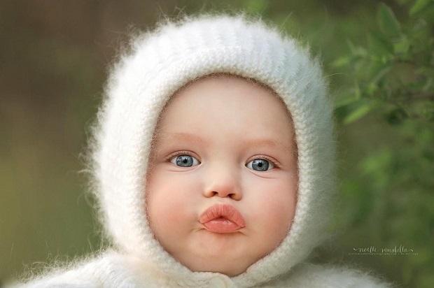 """""""Trộm vía"""" hình ảnh ngộ nghĩnh trẻ thơ baby kute & đáng yêu"""