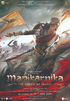 Poster Manikarnika: The Queen of Jhansi 2019 Hindi HD 720p