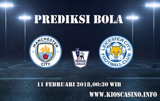 Prediksi Manchester City vs Leicester 11 Februari 2018