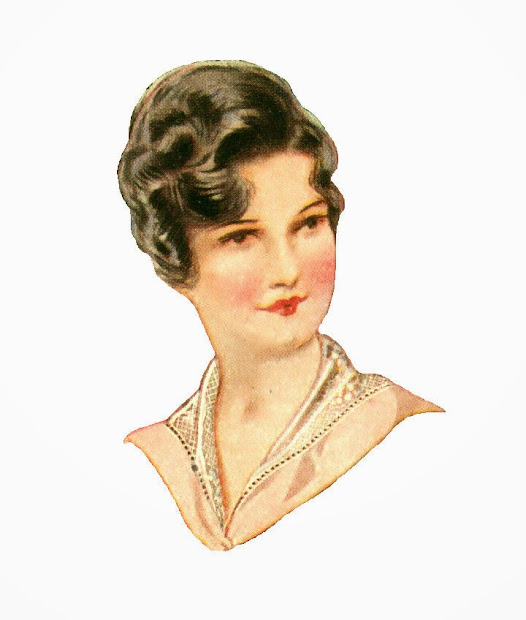 antique free fashion clip