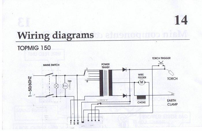 electronic hobby circuits: mig welding circuit diagram
