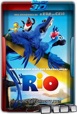 Rio Torrent 2011 1080p BluRay 3D Half-SBS Dublado
