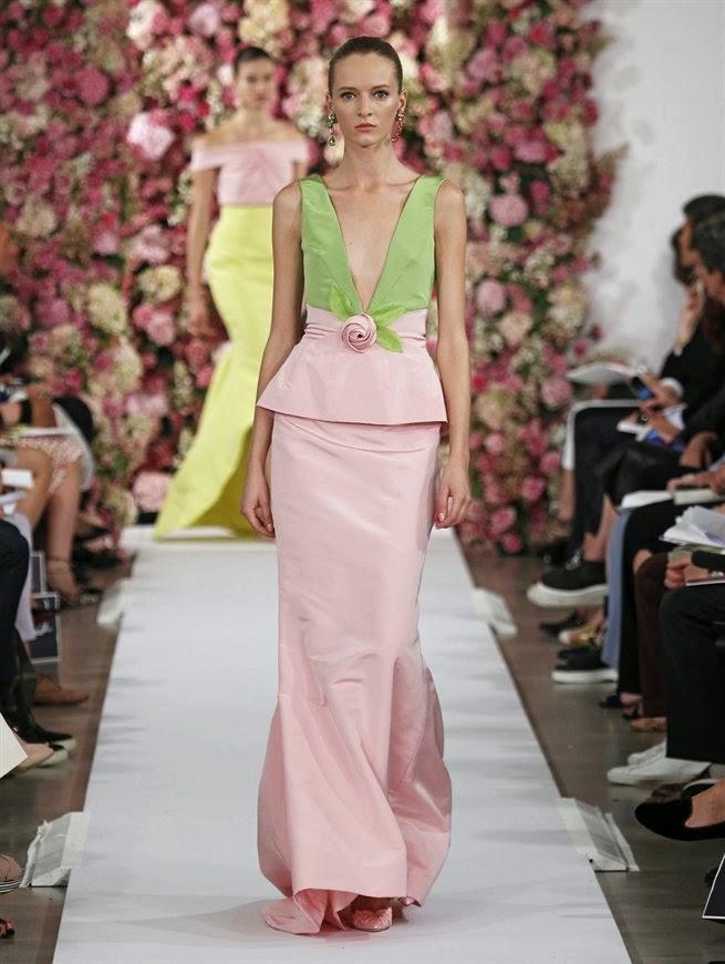 Fashion Runway  Oscar de la Renta Spring 2015 Cocktail Dresses  Cool Chic Style Fashion