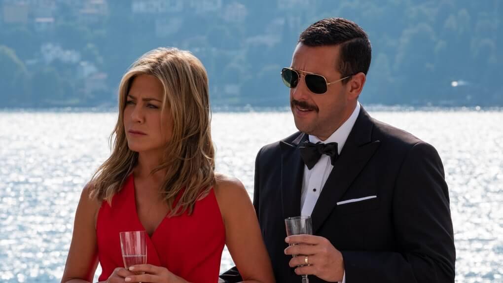 Adam Sandler and Jennifer Aniston are framed in new Murder Mystery trailer
