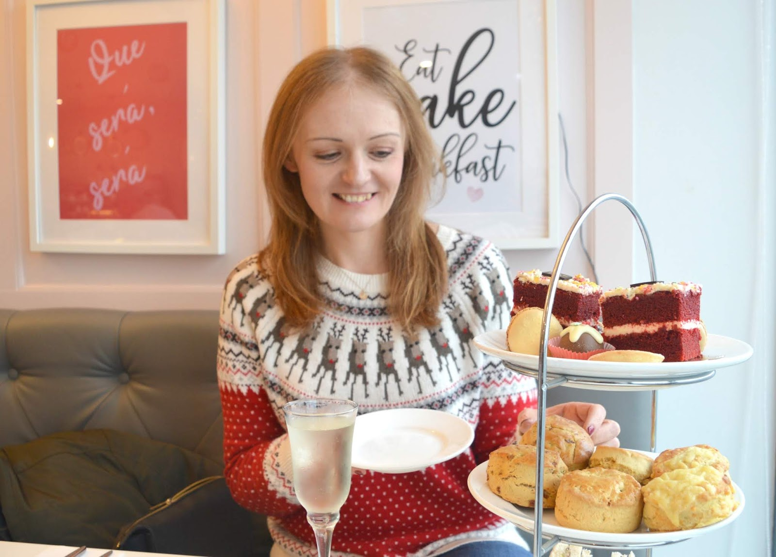 Christmas Afternoon Tea at Love Lily, Sunderland