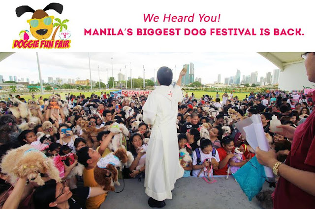 Doggie Fun Fair: Manila's Biggest Dog Festival (Year 3) on May 15, 2016, 10:00 AM to 7:00 PM at the Greenfield Central Park, Mandaluyong City, Philippines.
