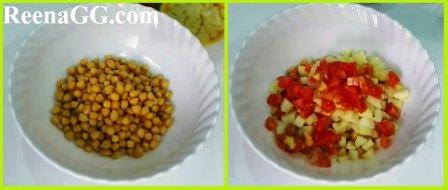 Black Chana Chaat Recipe