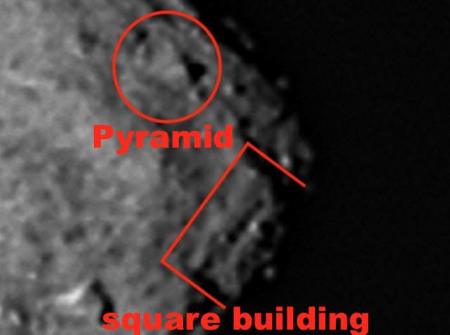 NASA che dấu kim tự tháp và kiến trúc khổng lồ trên thiên thạch Bennu