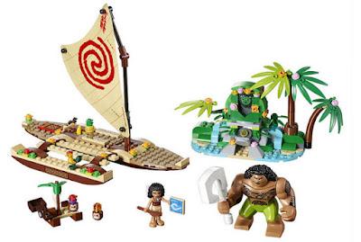 JUGUETES - LEGO Disney : Vaiana  41150 Viaje oceánico de Vaiana  2017 | Piezas: 307 | Edad: 6-12 años  Comprar en Amazon España