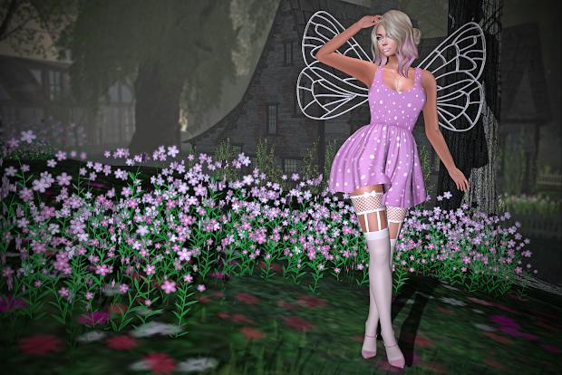 Laura' Lair Hidden Summer Fairy