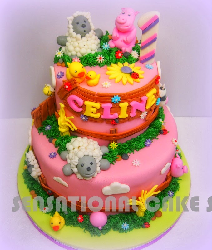 2 tier wedding cake singapore cakes2share singapore barnyard 2 tier cake singapore 10166