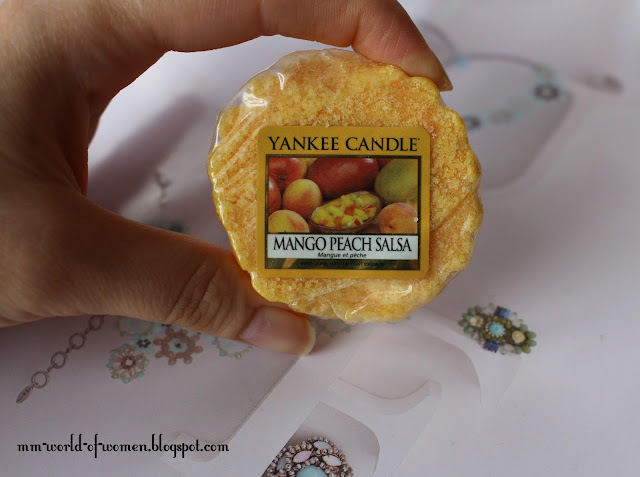 Mango Peach Salsa Yankee Candle