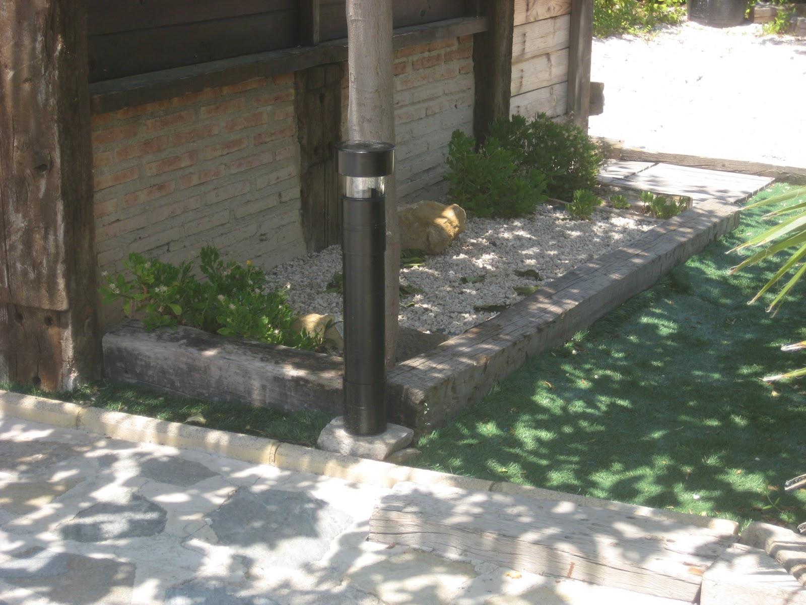 Mis cosas de madera farola de jardin - Farolas de jardin ...