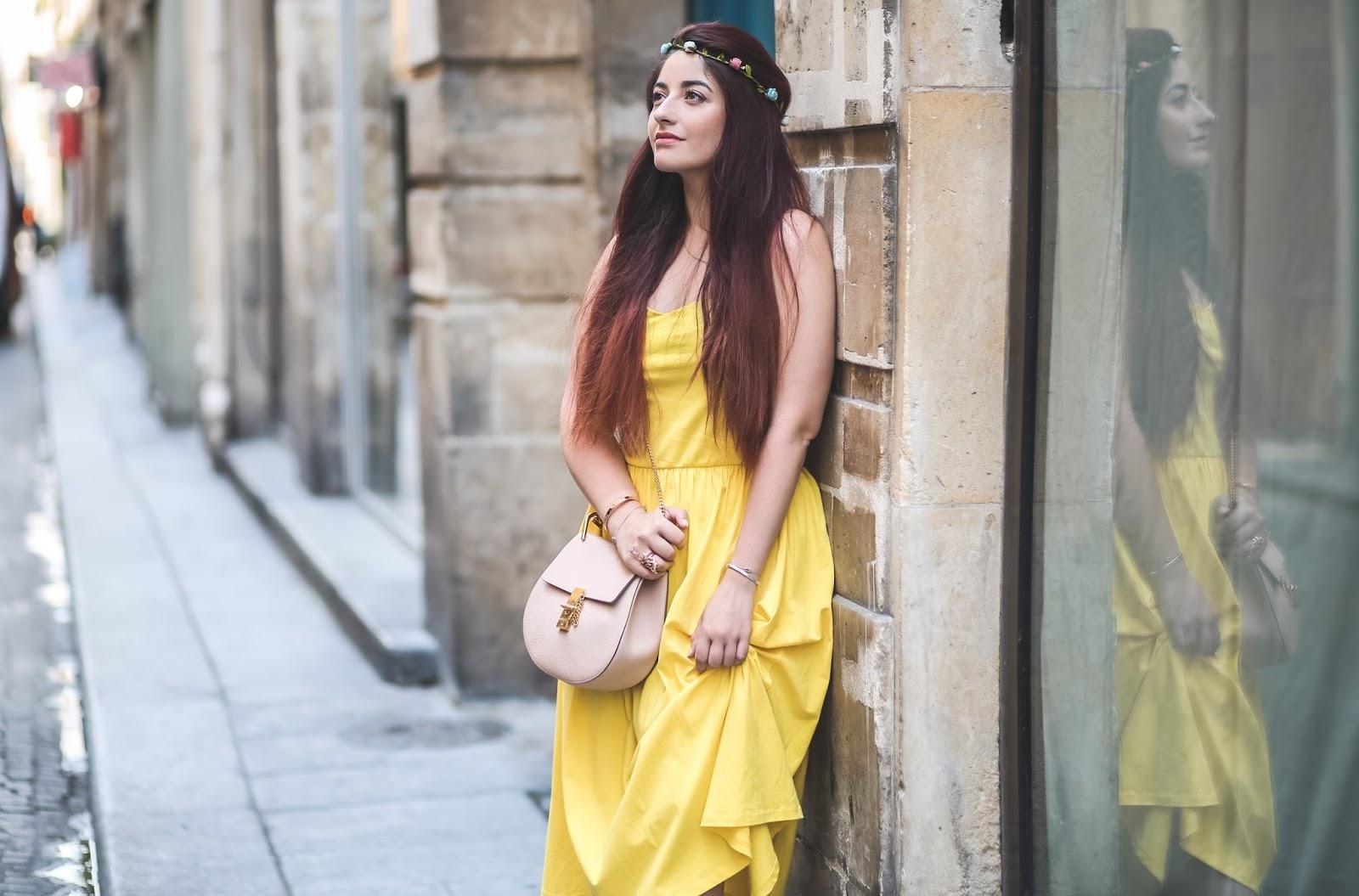 couronne de fleurs blog mode