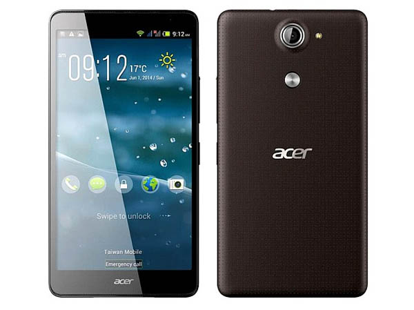 Acer Liquid E700, Android KitKat dengan 3 Slot SIM