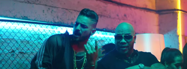 "Flo Rida Premieres ""Hola"" Video ft. Maluma"